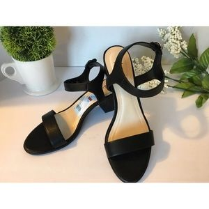 Style & Co. Women's Black Heeled Sandals Size 8.5M